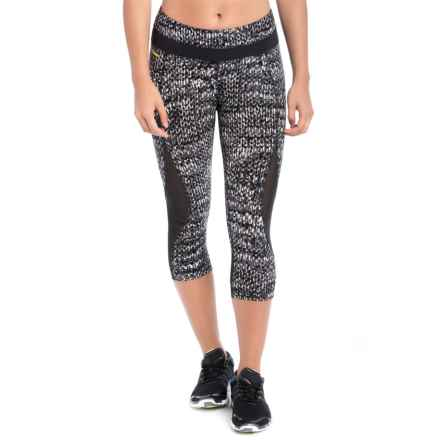 Lole Running Capris - UPF 50+ (For Women) in Black East Side - Closeouts
