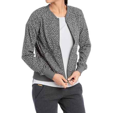 Lole Sabrina Jacket (For Women) in Dark Charcoal Migration - Closeouts