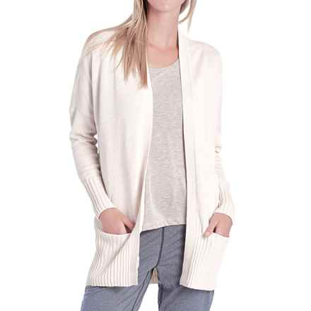 Lole Sachin Cardigan Sweater (For Women) in Gelato Heather - Closeouts