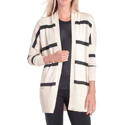 Lole Sachin Cardigan Sweater (For Women) in Gelato Stripe - Closeouts