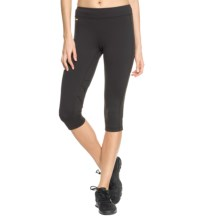 Lole Sadie Capris - UPF 50+, Mid Rise (For Women) in Black - Closeouts