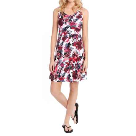 Lole Saffron Dress - UPF 50+, Sleeveless (For Women) in Cinnabar Garden Party - Closeouts