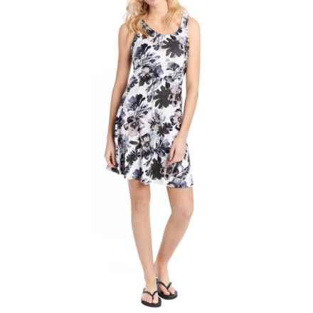 Lole Saffron Dress - UPF 50+, Sleeveless (For Women) in Green Tea Garden Party - Closeouts