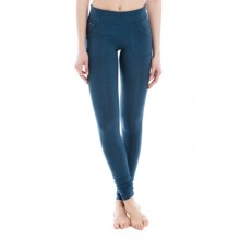 Lole Salutation Leggings (For Women) in Dark Denim - Closeouts