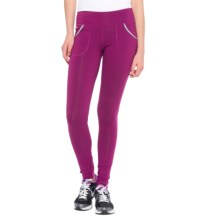 Lole Salutation Mid-Rise Leggings (For Women) in Mulberry - Closeouts