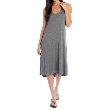 Lole Samia Dress - Racerback (For Women) in Dark Charcoal Heather - Closeouts