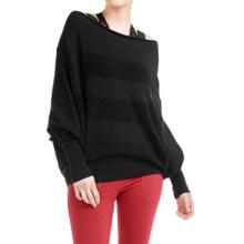 Lole Sammy 2-in-1 Sweater - UPF 50+, Dolman Sleeve (For Women) in Black - Closeouts