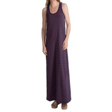 Lole Sarah Maxi Dress - UPF 50+, Organic Cotton, Sleeveless (For Women) in Blueberry 2 Tone - Closeouts