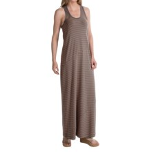 Lole Sarah Maxi Dress - UPF 50+, Organic Cotton, Sleeveless (For Women) in Oyster 2 Tones - Closeouts