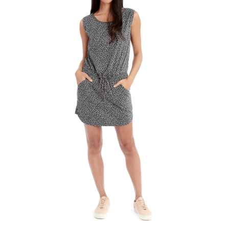 Lole Sarina Dress - Sleeveless (For Women) in Dark Charcoal Migration - Closeouts