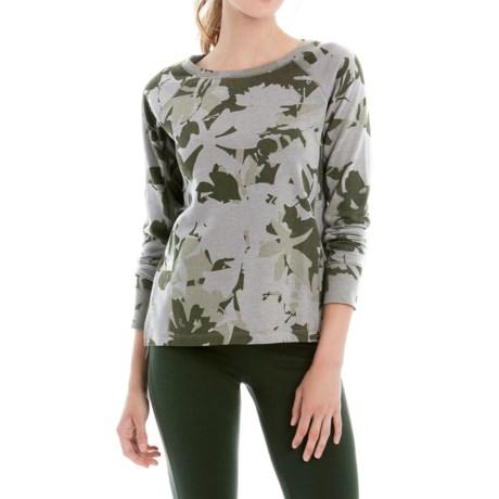 Lole Saya Terry-Knit Shirt - Long Sleeve (For Women)