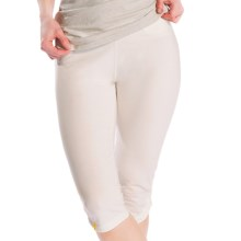 Lole Serene Capris - UPF 50+ (For Women) in Vanilla - Closeouts