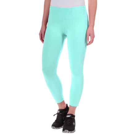 Lole Serene Capris - UPF 50+, Organic Cotton (For Women) in Aruba Blue - Closeouts