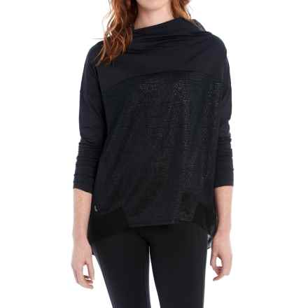 Lole Shirt - Cowl Neck, Long Sleeve (For Women) in Black - Closeouts