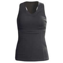 Lole Silhouette Up 2nd Skin Tank Top - UPF 50+ (For Women) in Black - Closeouts
