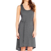 Lole Sophie Dress - Sleeveless (For Women) in Dark Charcoal Heather - Closeouts