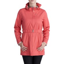 Lole Stratus Belted Jacket - Waterproof (For Women) in Petunia - Closeouts