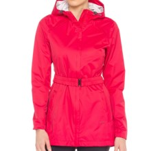 Lole Stratus Hooded Rain Jacket - Waterproof (For Women) in Chillies - Closeouts