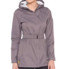 Lole Stratus Hooded Rain Jacket - Waterproof (For Women) in Oyster - Closeouts