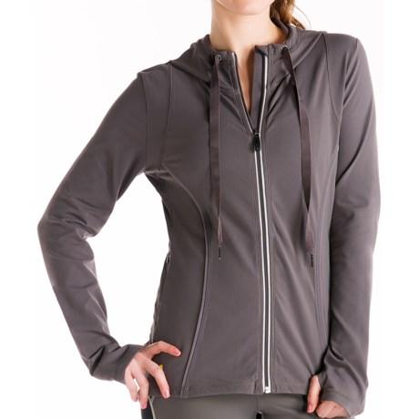 Lole Studio Jacket - UPF 50+, Full Zip (For Women) in Storm