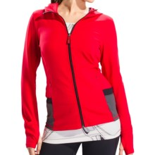 Lole Studio Jacket - UPF 50+, Full Zip (For Women) in Tango - Closeouts
