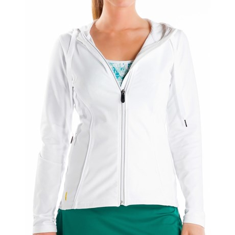 Lole Studio Jacket - UPF 50+, Full Zip (For Women) in White