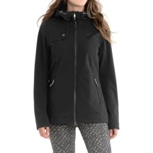 Lole Stunning Soft Shell Jacket - Waterproof (For Women) in Black - Closeouts