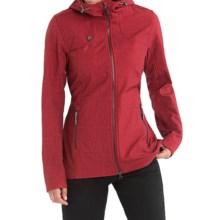 Lole Stunning Soft Shell Jacket - Waterproof (For Women) in Cabernet Corn Field - Closeouts