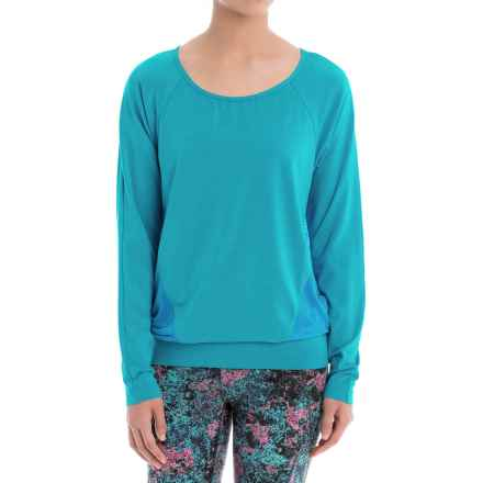 Lole Suddhi Shirt - Organic Cotton, Long Sleeve (For Women) in Atomic Blue - Closeouts