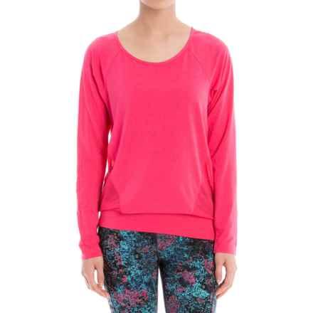 Lole Suddhi Shirt - Organic Cotton, Long Sleeve (For Women) in Azalea - Closeouts
