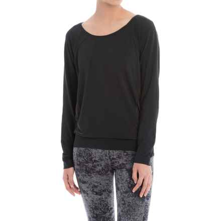 Lole Suddhi Shirt - Organic Cotton, Long Sleeve (For Women) in Black - Closeouts