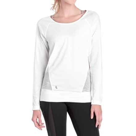 Lole Suddhi Shirt - Organic Cotton, Long Sleeve (For Women) in White - Closeouts