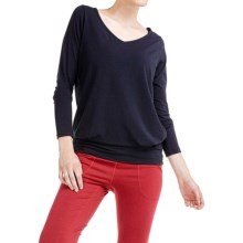 Lole Suddhi Shirt - Organic Cotton-TENCEL® Blend, Long Sleeve (For Women) in Black - Closeouts