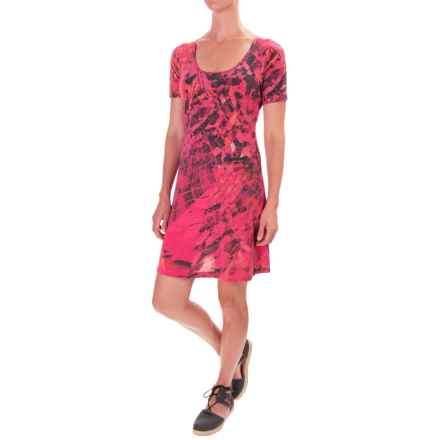 Lole Sue Dress - Rayon, Short Sleeve (For Women) in Starburst Monarch - Closeouts