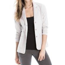 Lole Suitable Blazer (For Women) in Warm Grey Heather - Closeouts