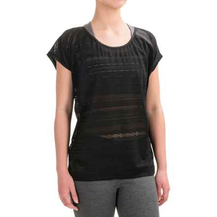 Lole Sybil Shirt - Short Sleeve (For Women) in Black - Closeouts