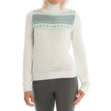 Lole Tierra Mock Neck Sweater (For Women) in White - Closeouts