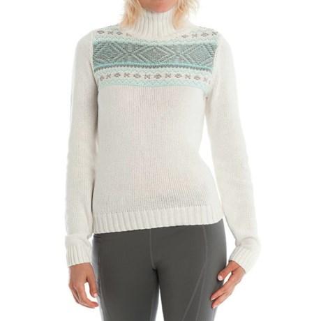 Lole Tierra Mock Neck Sweater (For Women)
