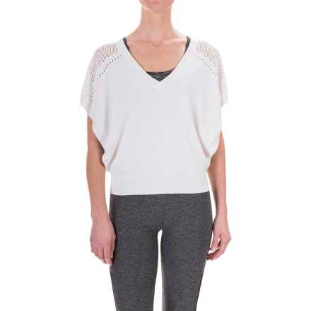 Lole Tonya Sweater (For Women) in White - Closeouts