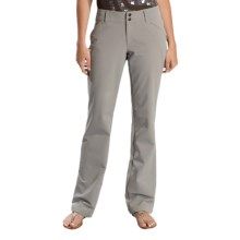 Lole Travel Pants - UPF 50+, Nano Carbon Fabric (For Women) in Steel Grey - Closeouts