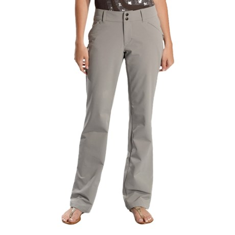 Lole Travel Pants - UPF 50+, Nano Carbon Fabric (For Women) in Steel Grey