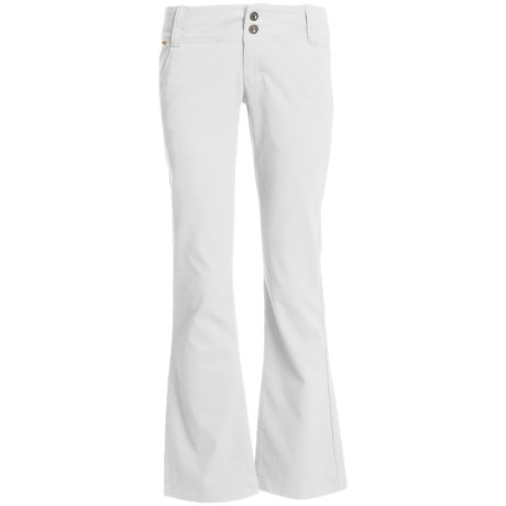 Lole Trek Pants - Stretch Bedford Cotton, UPF 50+ (For Women)