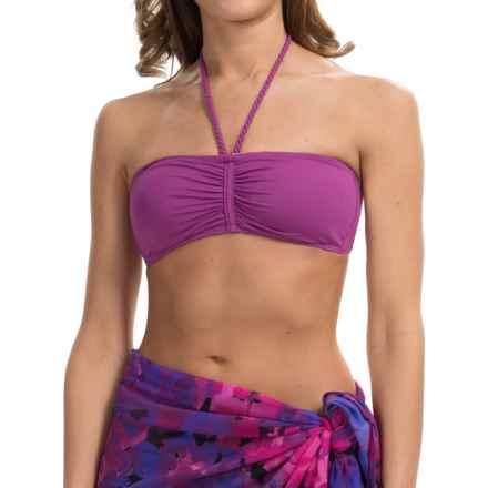 Lole Tropez Bikini Swimsuit Top - Bandeau (For Women) in Passiflora - Closeouts