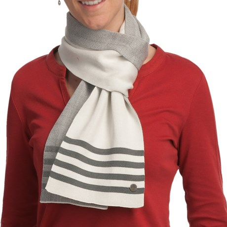 Lole Twig Scarf (For Women) in Pearl Stripe