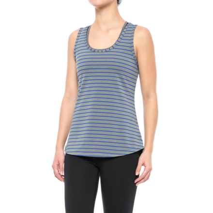 Lole Twist Tank Top - Racerback (For Women) in Dazzling Blue Stripe - Closeouts