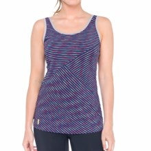 Lole Twist Tank Top - UPF 50+ (For Women) in Blueberry Stripe - Closeouts