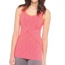 Lole Twist Tank Top - UPF 50+ (For Women) in Campari Biscotti Stripe - Closeouts