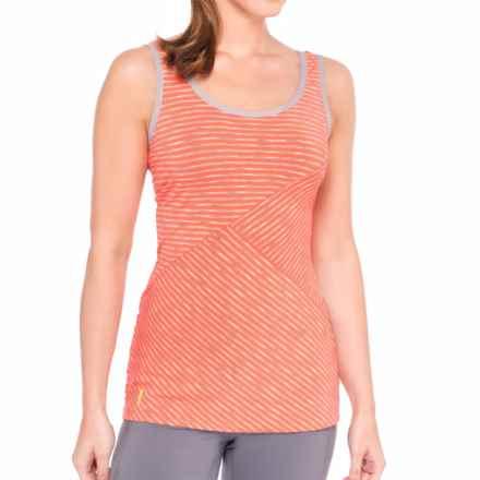 Lole Twist Tank Top - UPF 50+ (For Women) in Mandarino Stripe - Closeouts