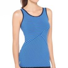 Lole Twist Tank Top - UPF 50+ (For Women) in Nautical Stripe - Closeouts
