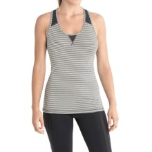 Lole Twist Tank Top - UPF 50+, Racerback (For Women) in Black Stripe - Closeouts